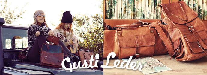 Gusti Leder, Vintage Ledertaschen, Reisegepäck und Accessoires